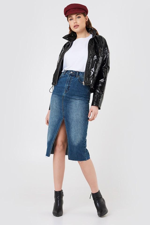 Octavia Denim Skirt NA-KD.COM