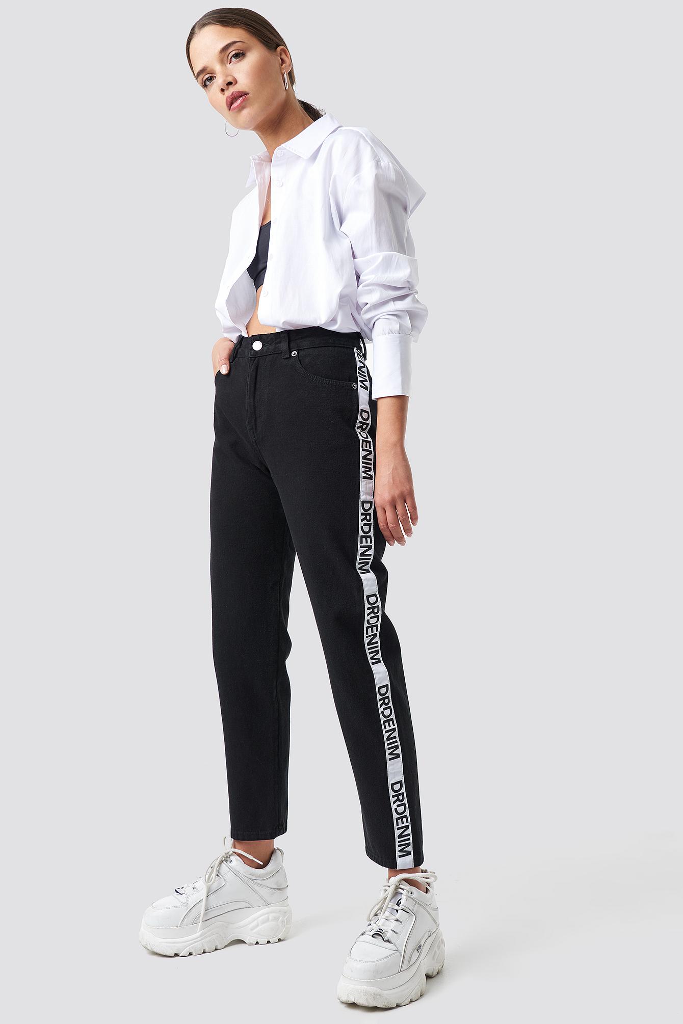 dr denim -  Pepper Straight Jeans - Black