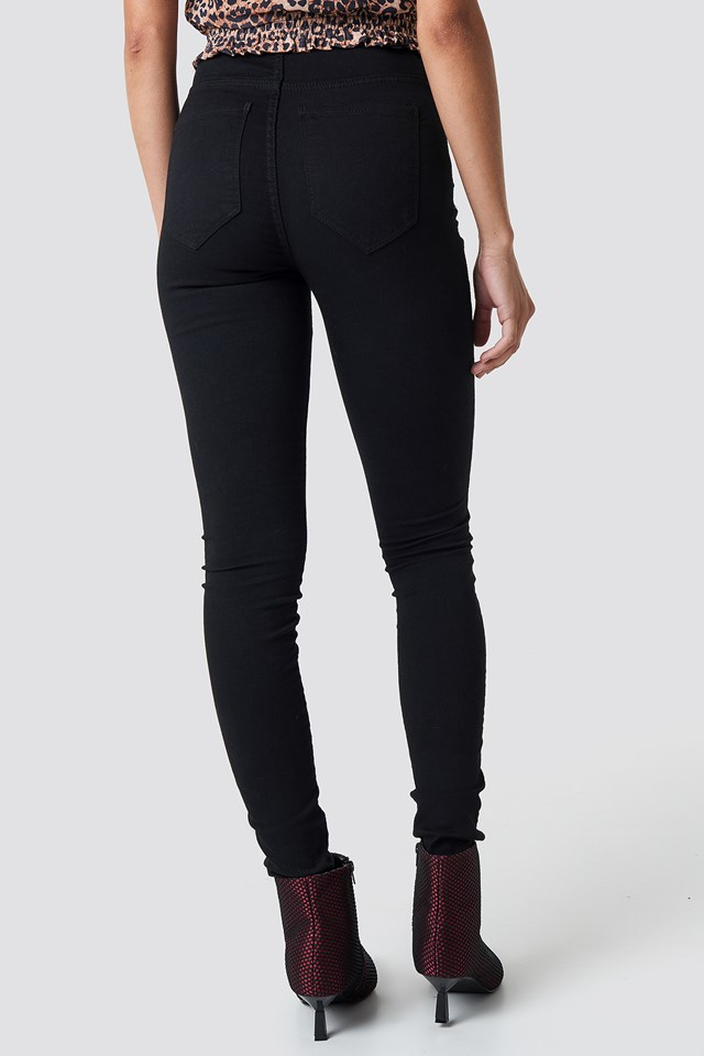 Solitaire Jeans Black