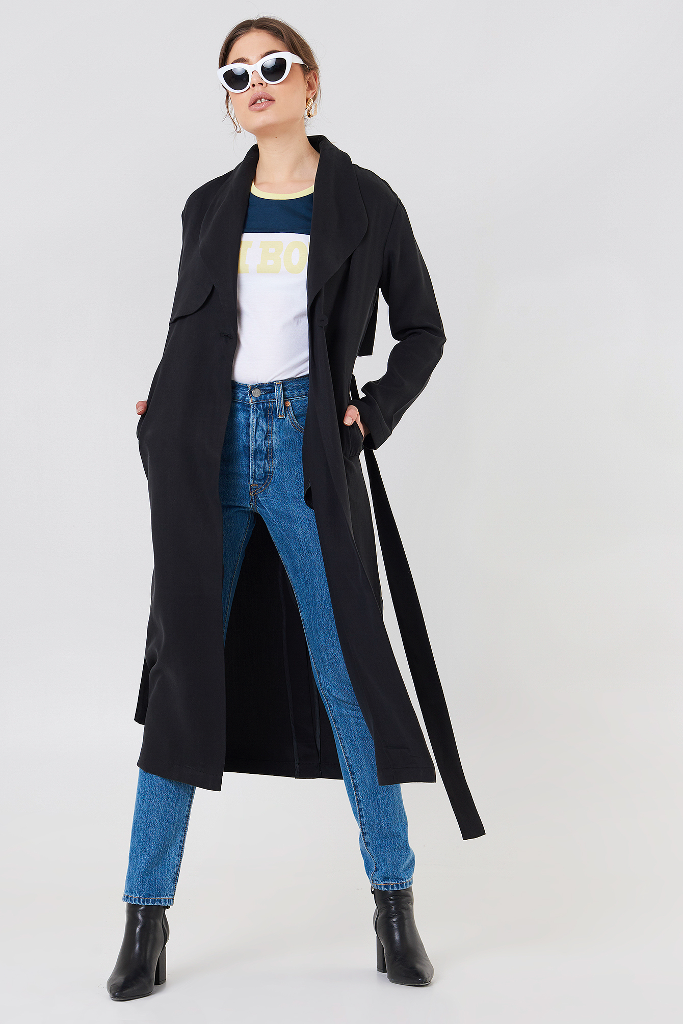 Tanisha Trench Coat NA-KD.COM