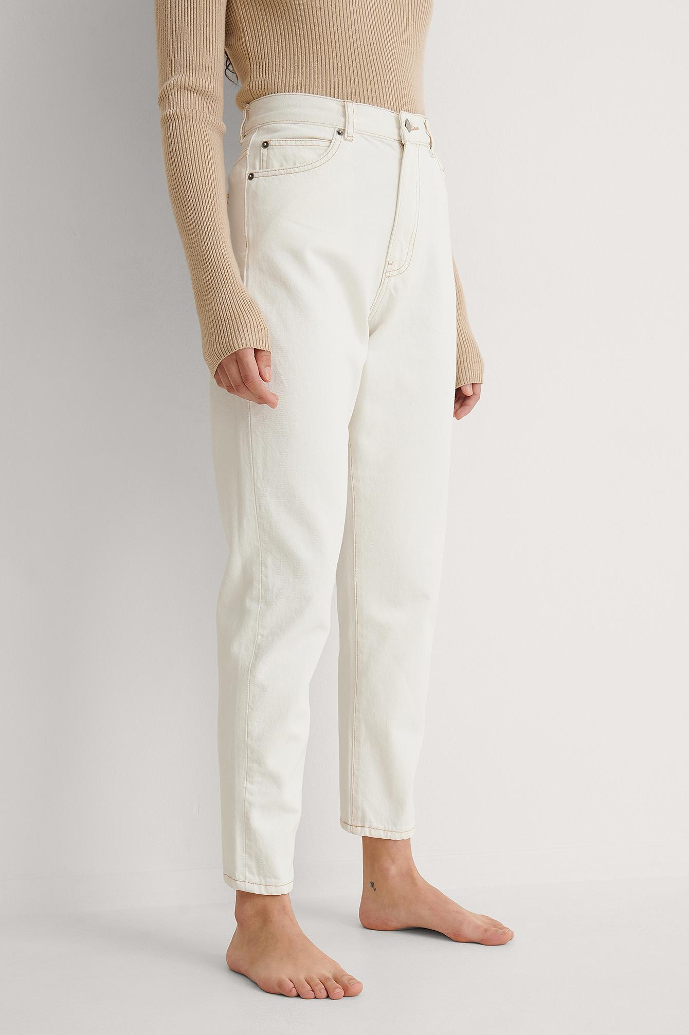 Dr Denim Jeans - White