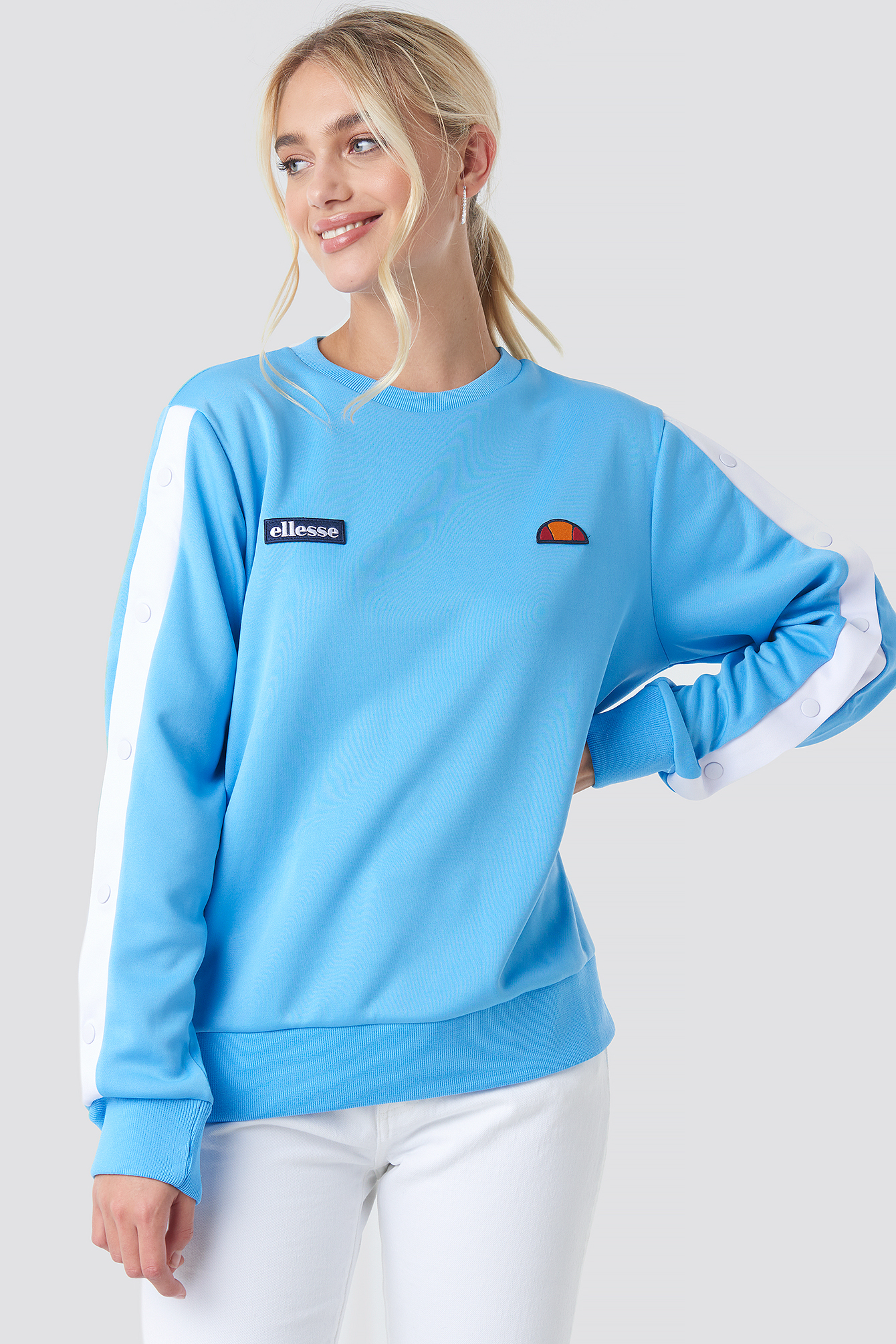 ellesse -  El Abrianna Sweater - Blue
