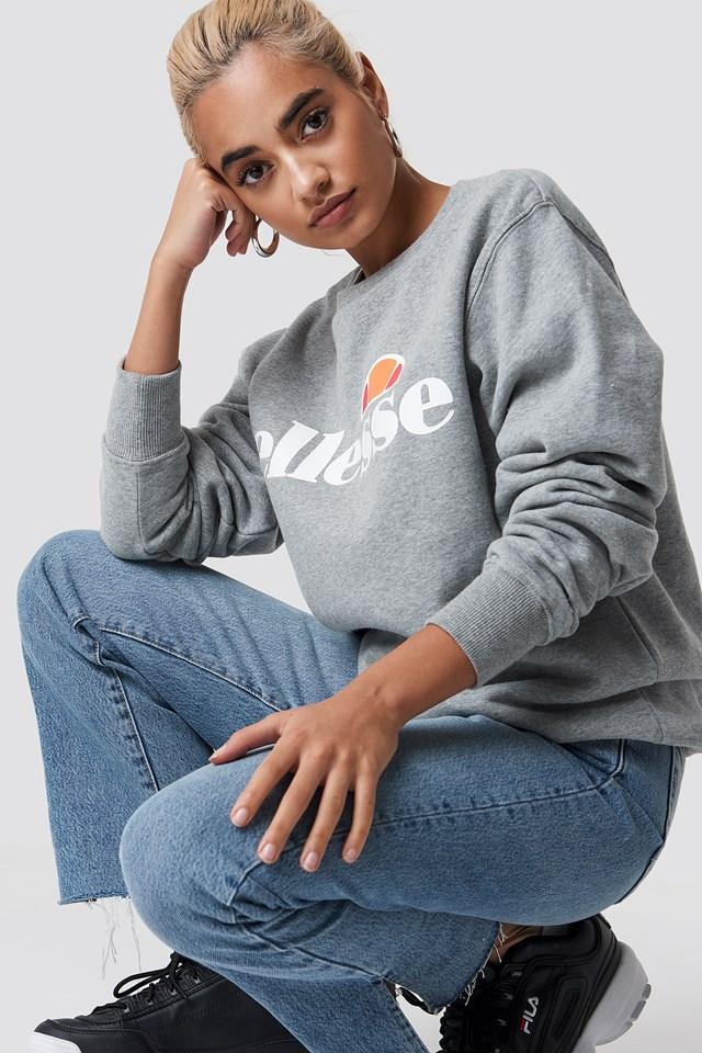 El Agata Sweatshirt Athletic Grey
