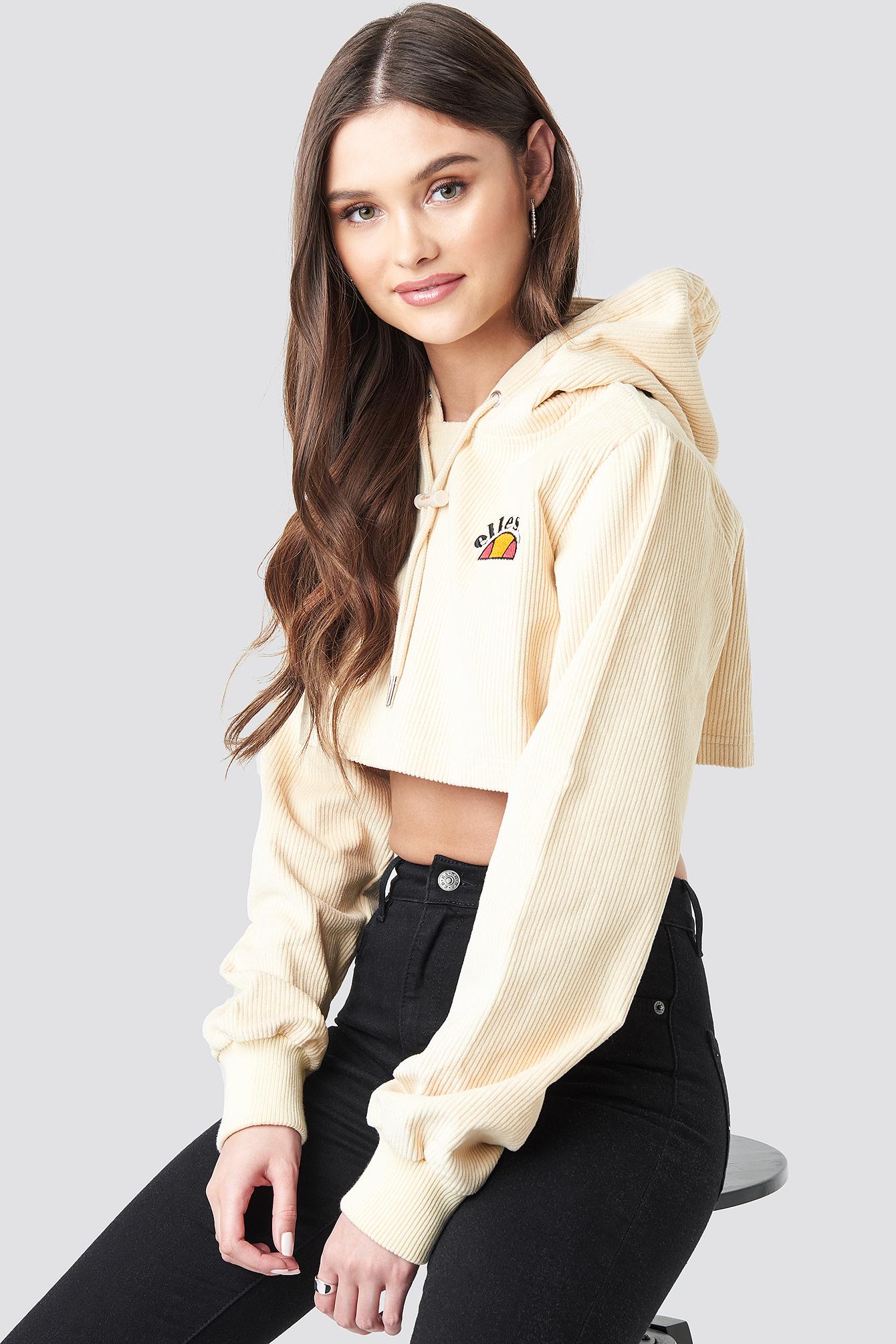 El Jasmine Crop Hoodie NA-KD.COM