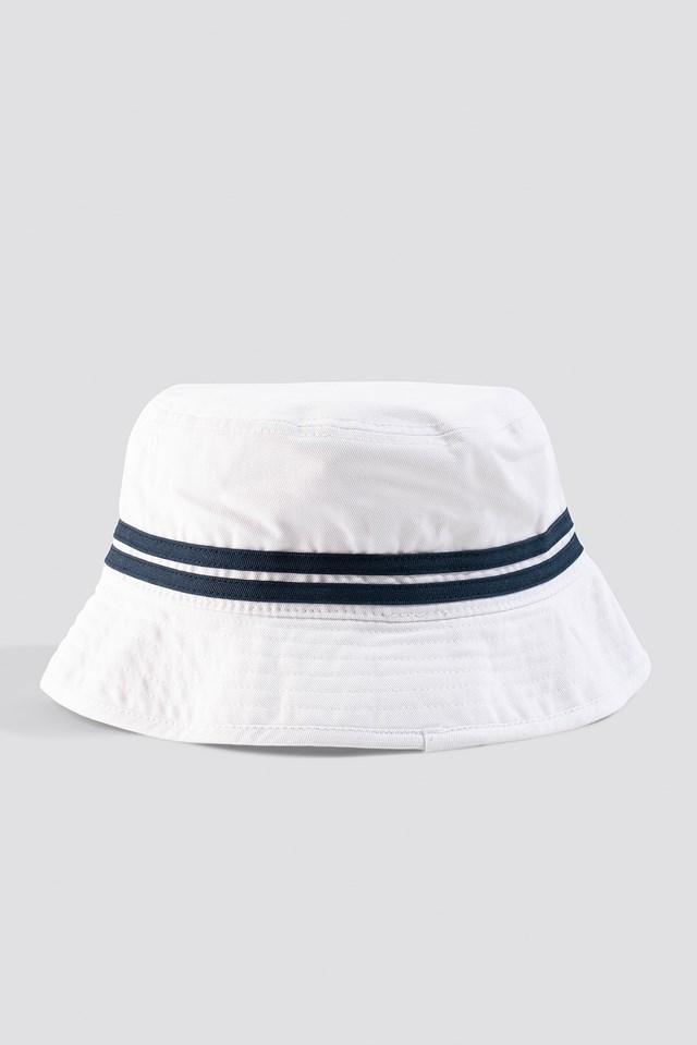El Lorenzo Bucket Hat White