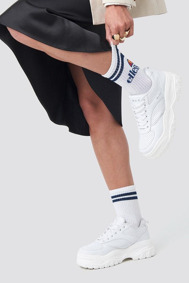 El Pollo Socks White
