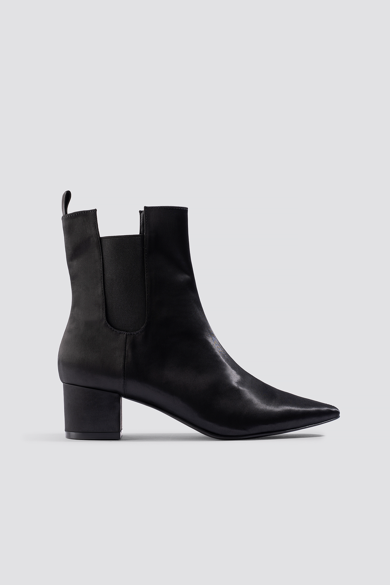 Satin Ankle Boots NA-KD.COM
