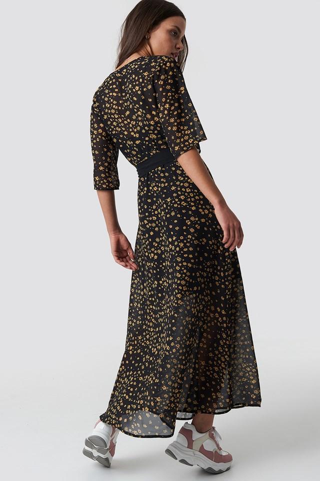All Over Print Dress NA-KD.COM