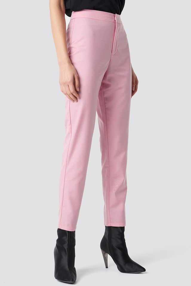Ankle Pants Pink