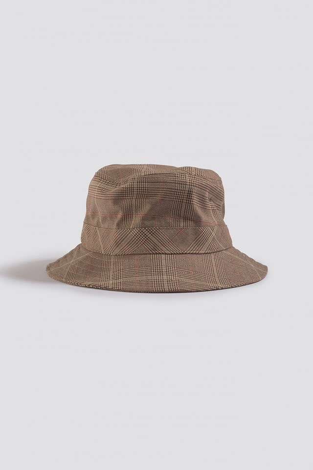 Checked Bucket Hat Checkered