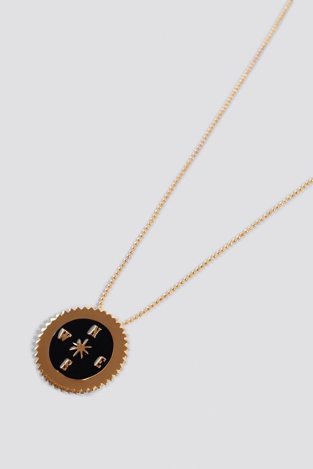 Compass Pendant Necklace NA-KD.COM