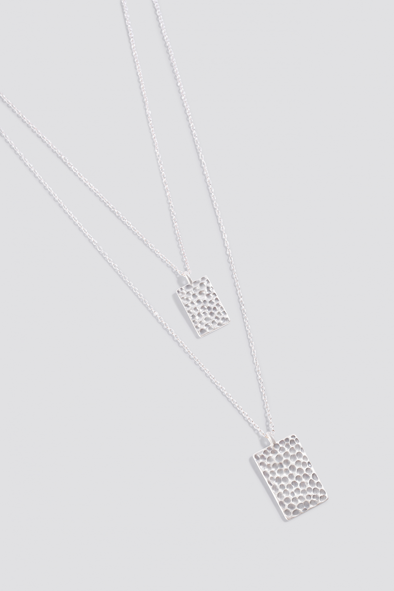 Hammered Rectangle Necklaces  NA-KD.COM