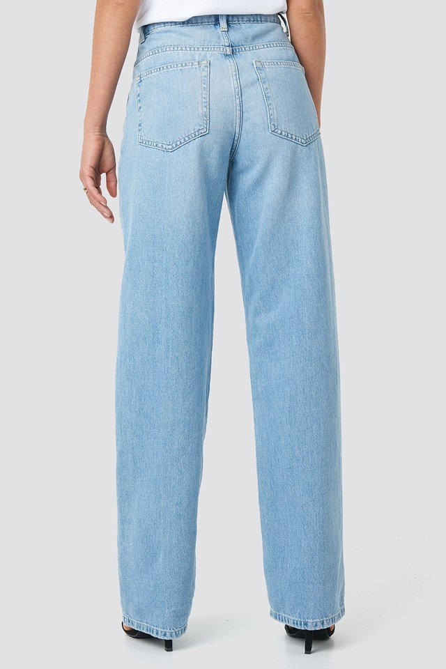 Loose Fit Denim Light Blue