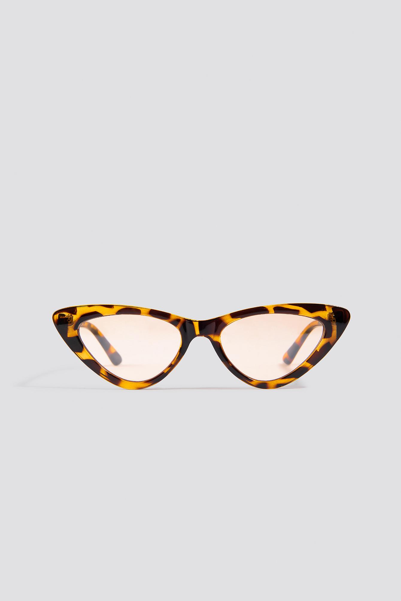 Okulary przeciwsłoneczne kocie oczy NA-KD.COM