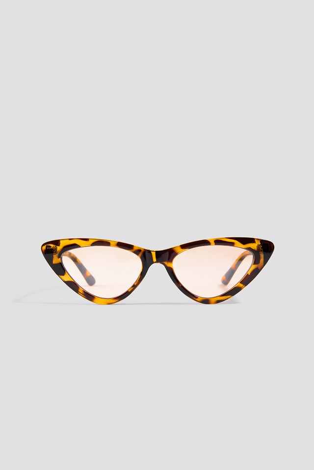 Cateye Sunglasses Brown
