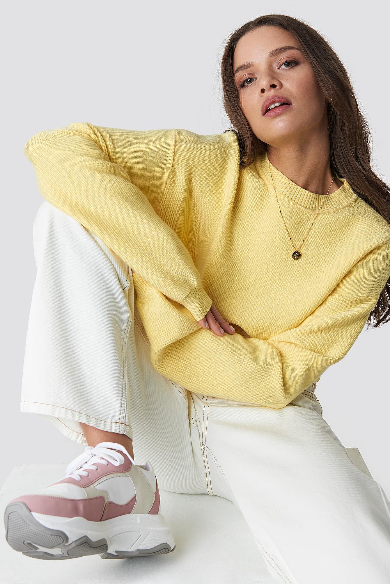 Oversized Roundneck Sweater NA-KD.COM