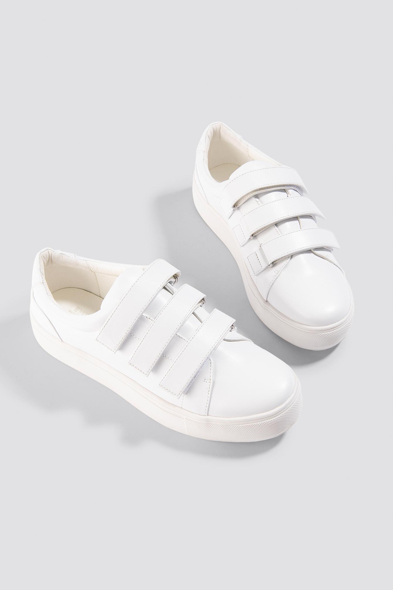 Patent Velcro Sneaker