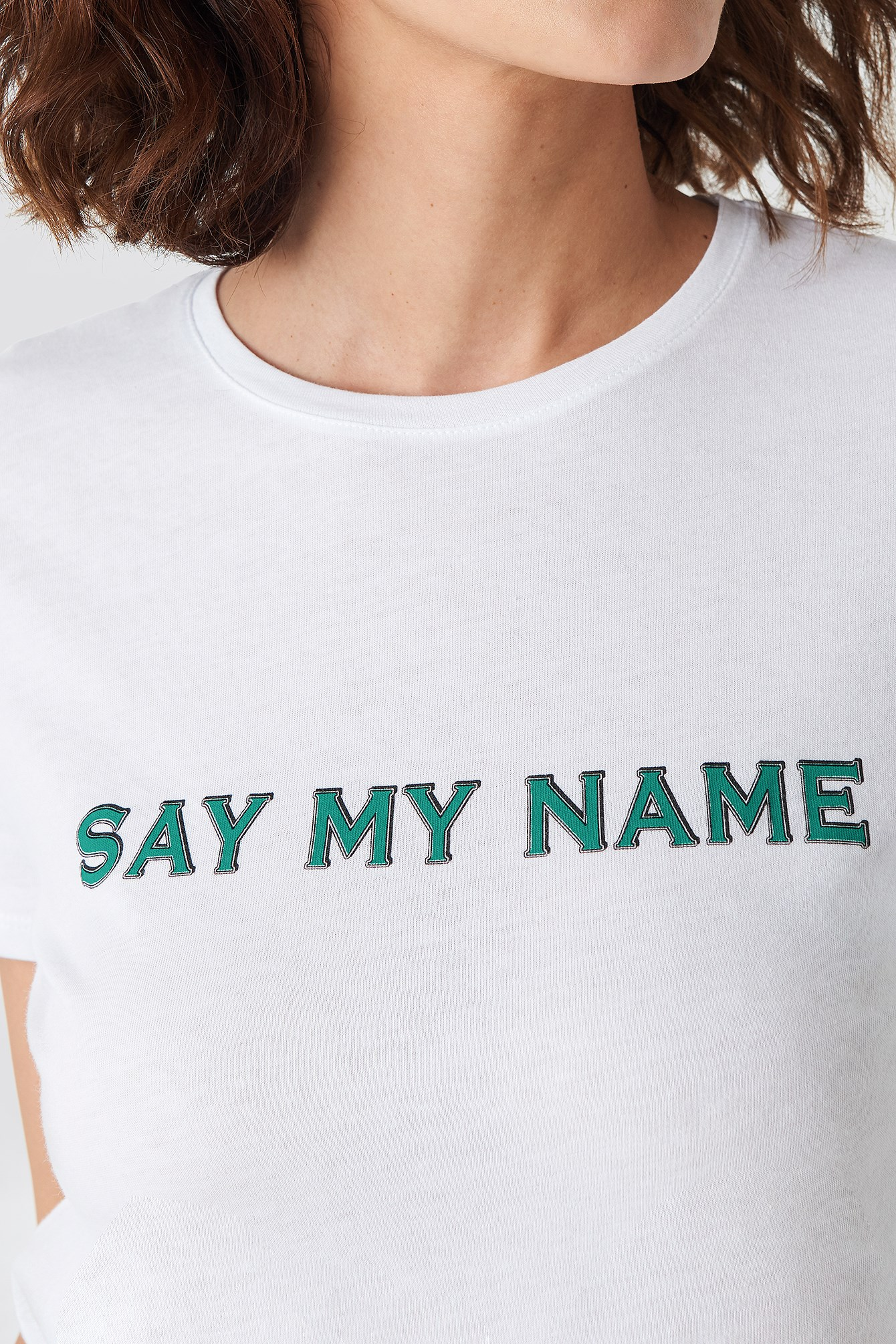 Say My Name Tee NA-KD.COM