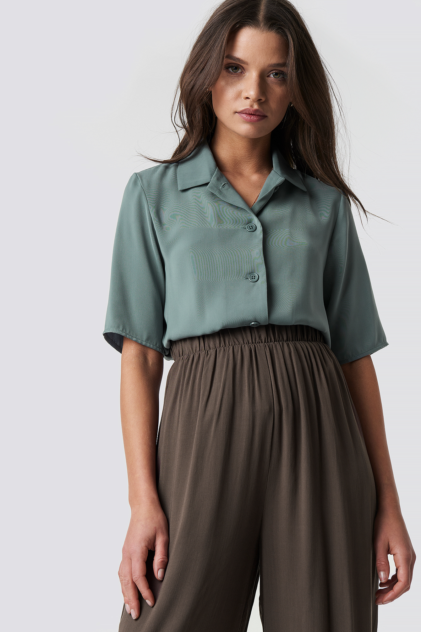 Short Sleeve Blouse NA-KD.COM