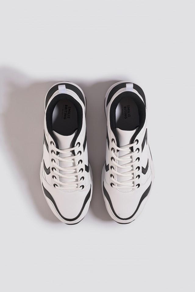 Street Chunky Sneaker Black/White
