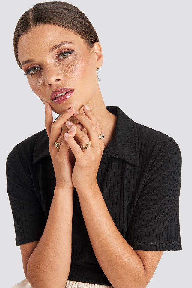 Structure Rings Emilie Briting x NA-KD