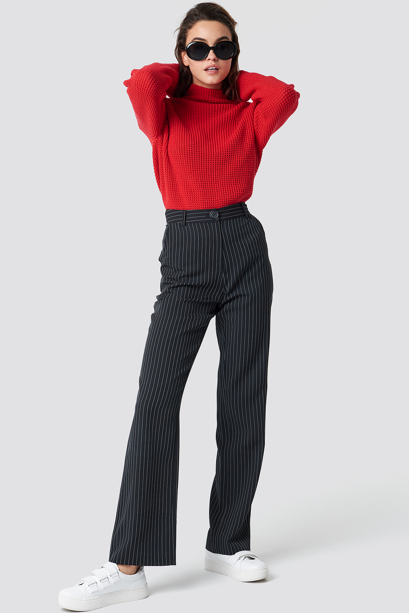 Structured Polo Knit NA-KD.COM
