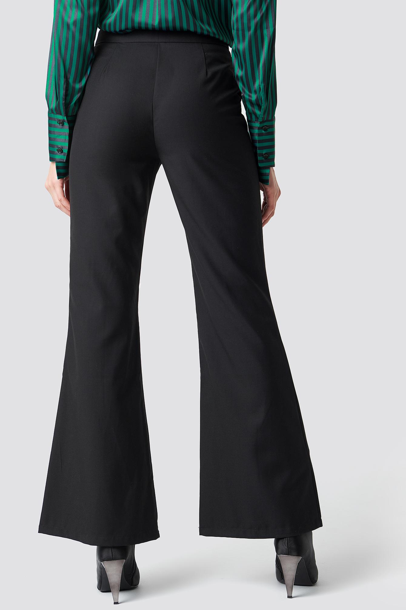 Spodnie z szerokimi nogawkami NA-KD.COM