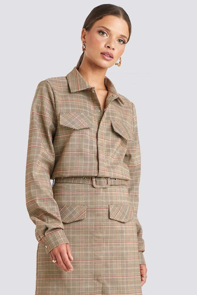Checked Pocket Shirt Checkered
