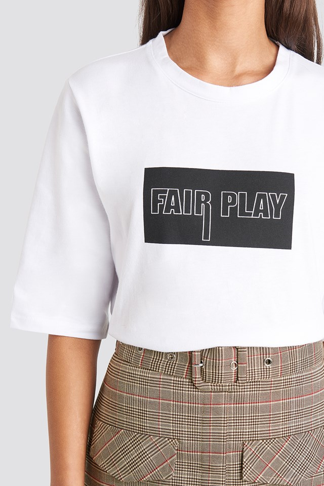 Fair Play T-shirt White