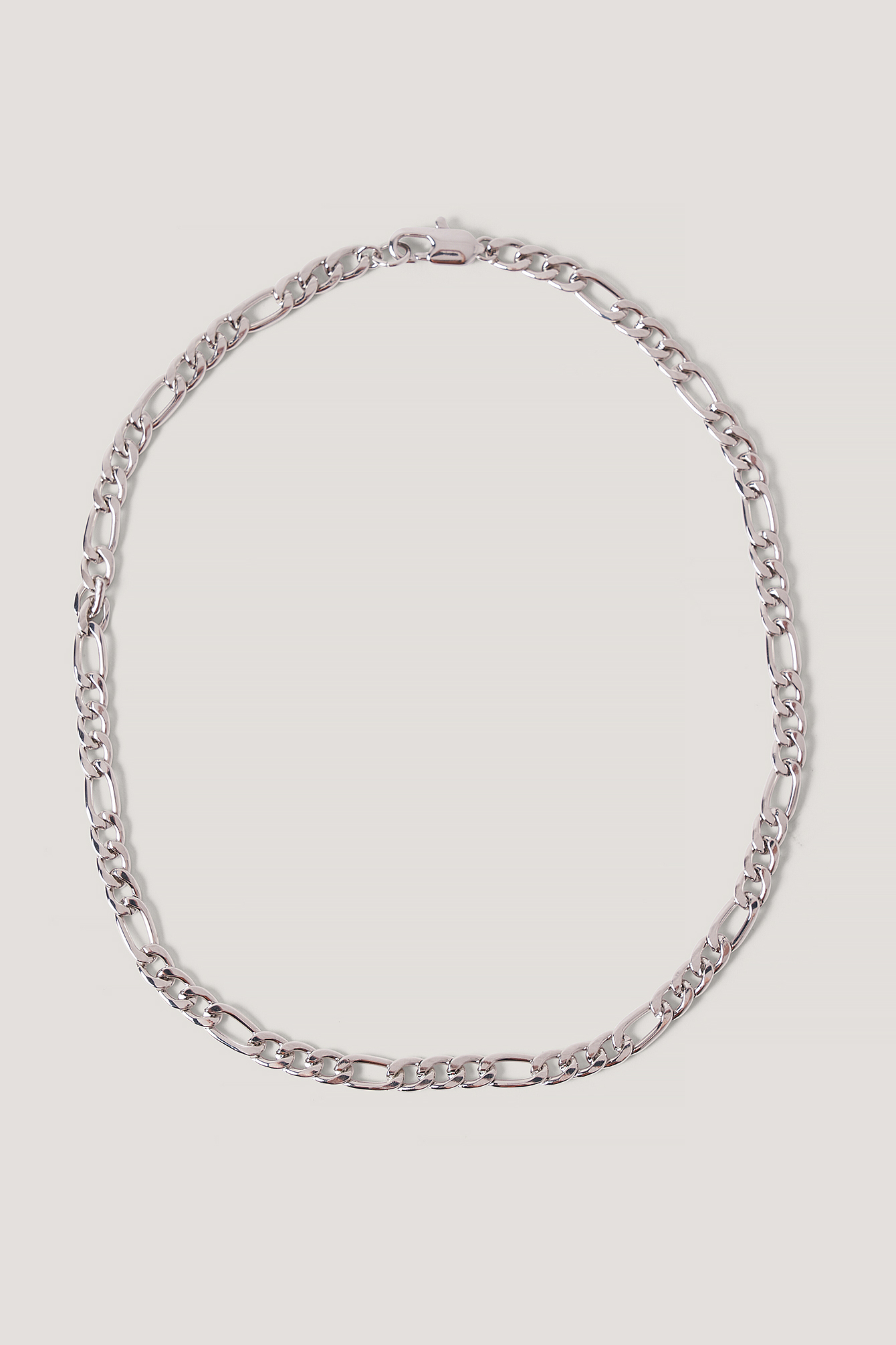 Silver Chain Detail Necklace