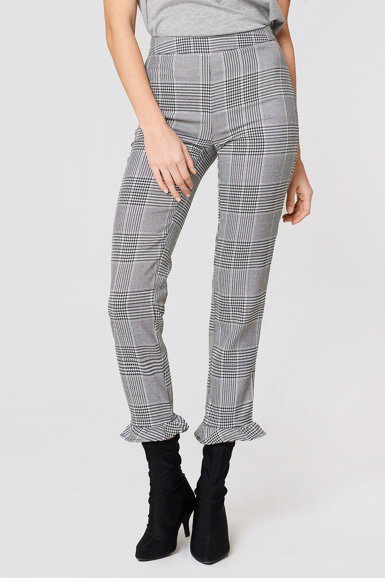 Checkered Pants NA-KD.COM