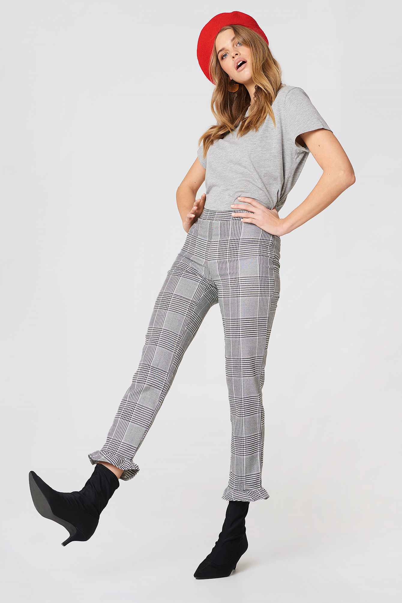 CHECKERED PANTS - MULTICOLOR