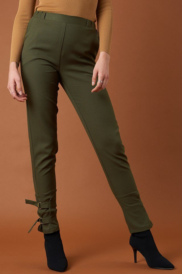 Ankle Strap Detailed Pants NA-KD.COM