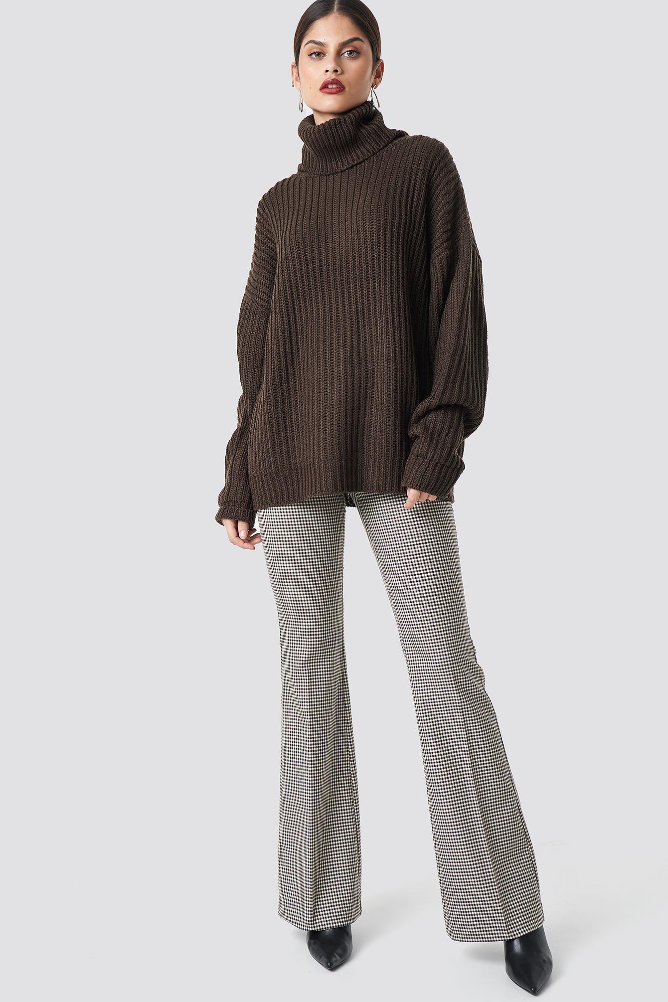 Big Chunky Knitted Sweater NA-KD.COM