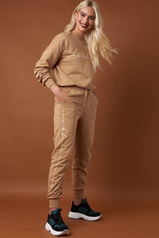 Branded Sweatpants NA-KD.COM