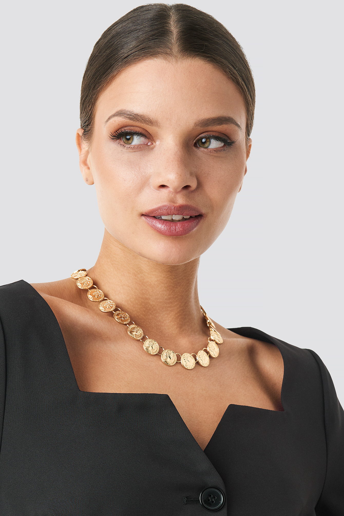 Connected Coin Necklace NA-KD.COM