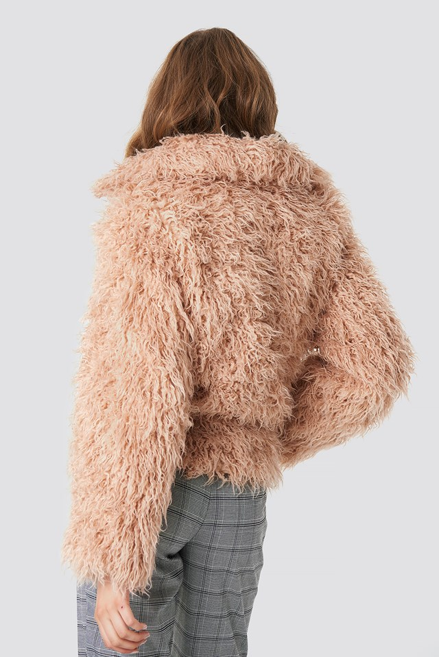 Faux Fur Short Jacket NA-KD.COM