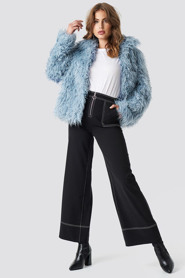 Faux Fur Short Jacket NA-KD