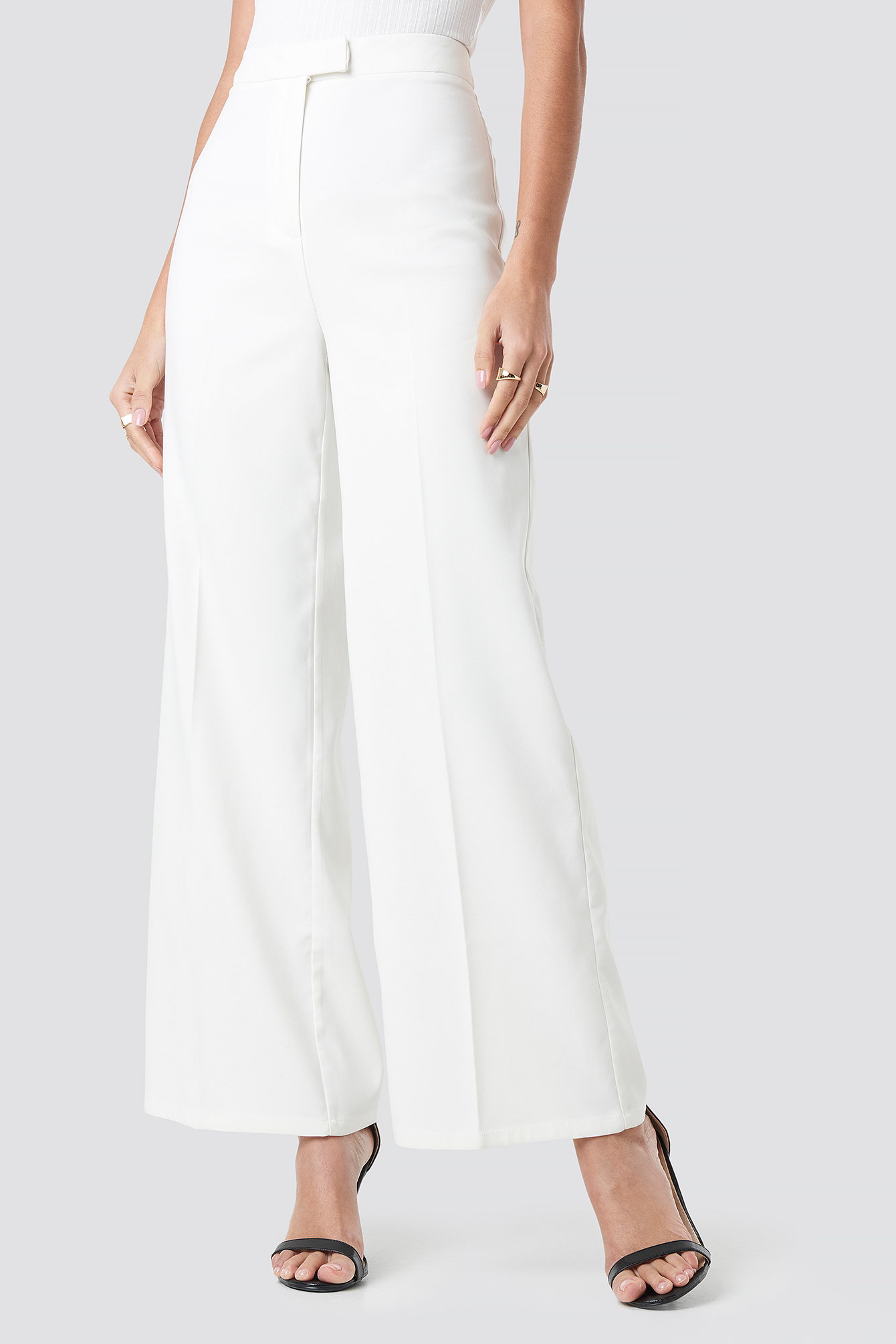 Flared Suit Pants NA-KD.COM