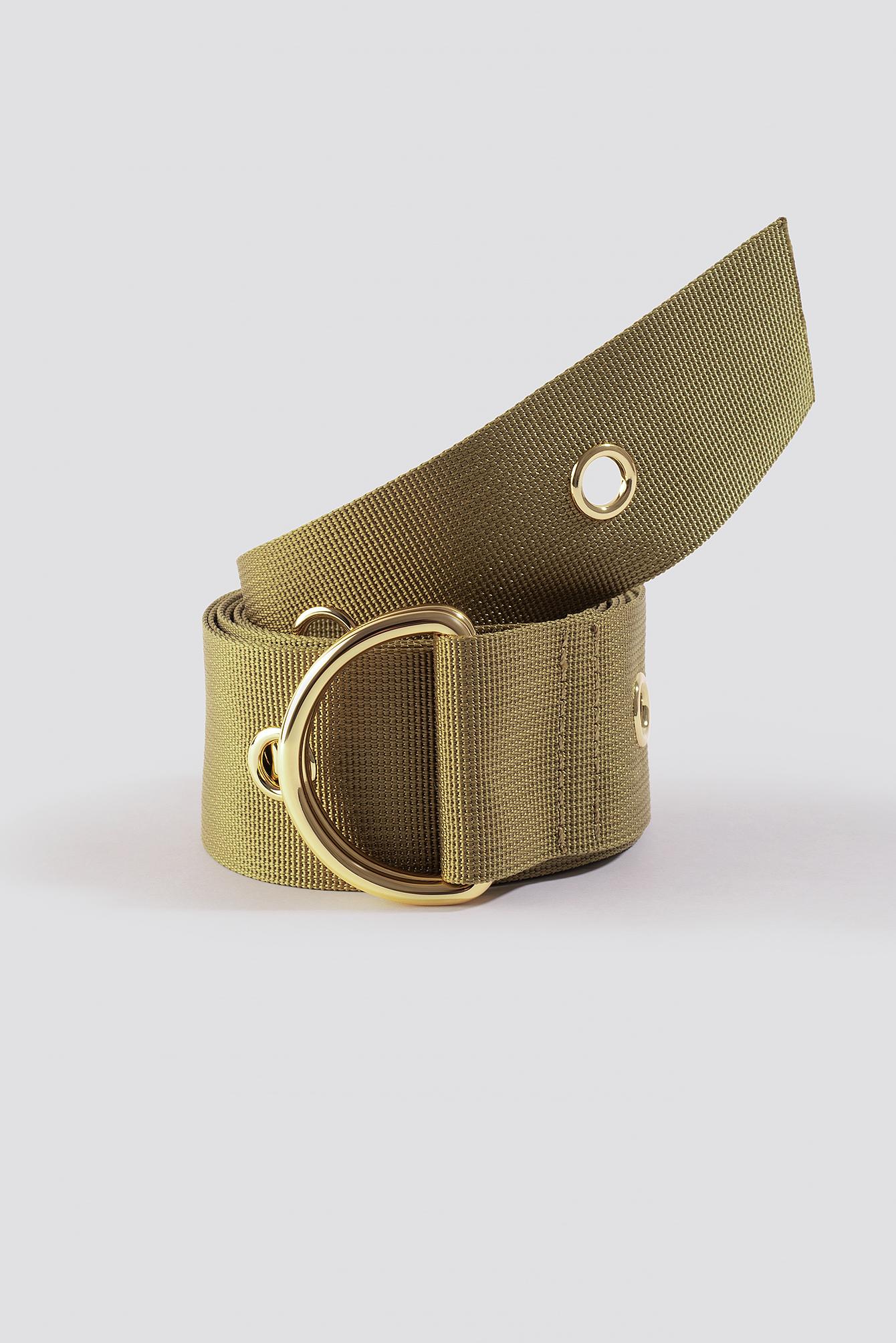 Layered Eyelet Waist Belt NA-KD.COM