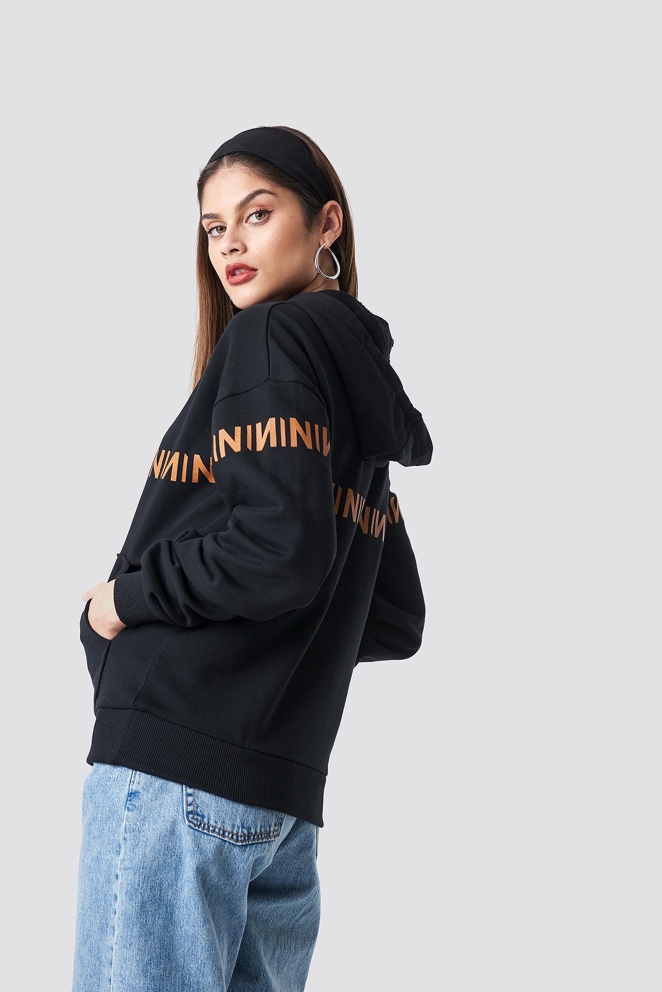 N Branded Hoodie NA-KD.COM