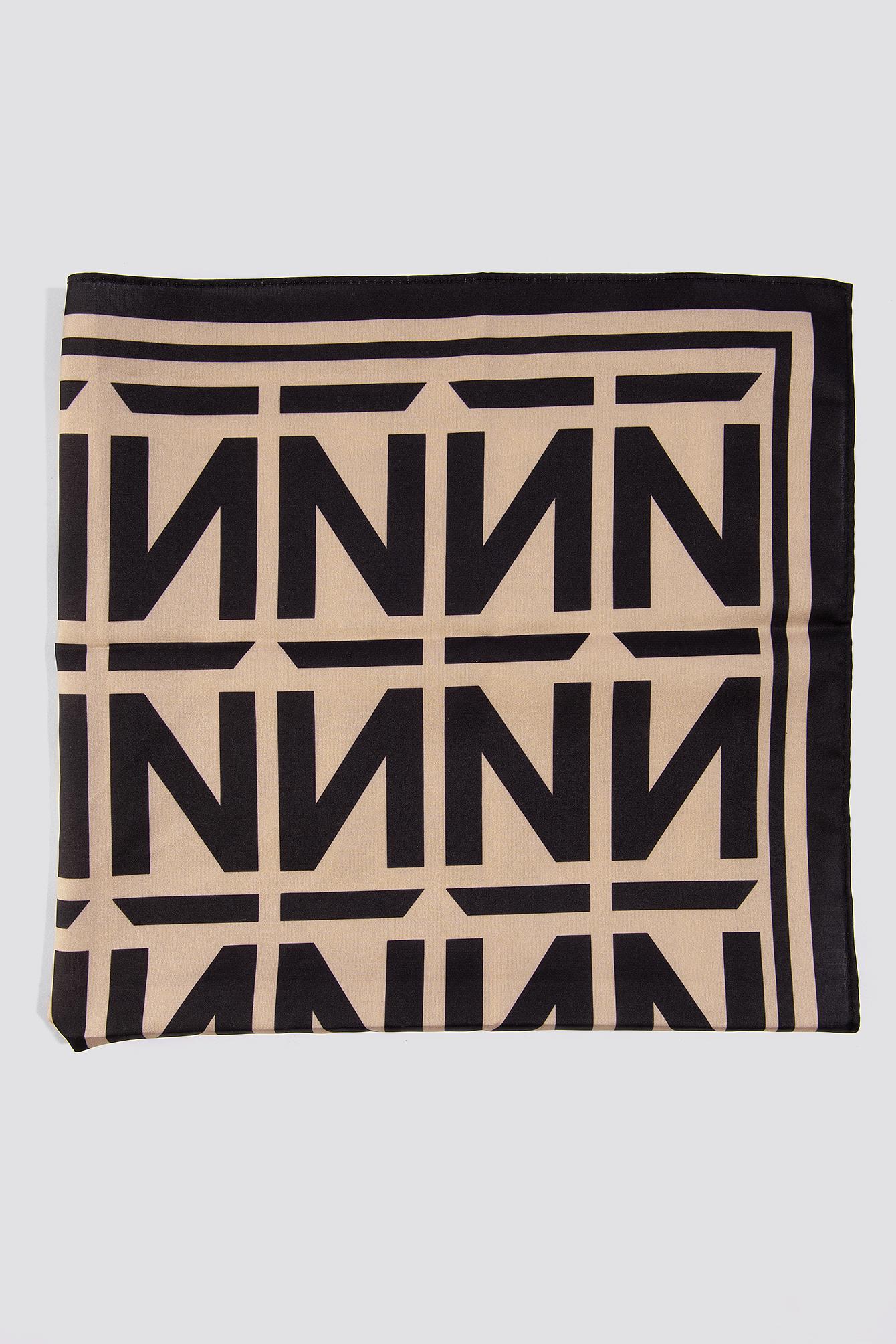 N Branded Satin Scarf NA-KD.COM