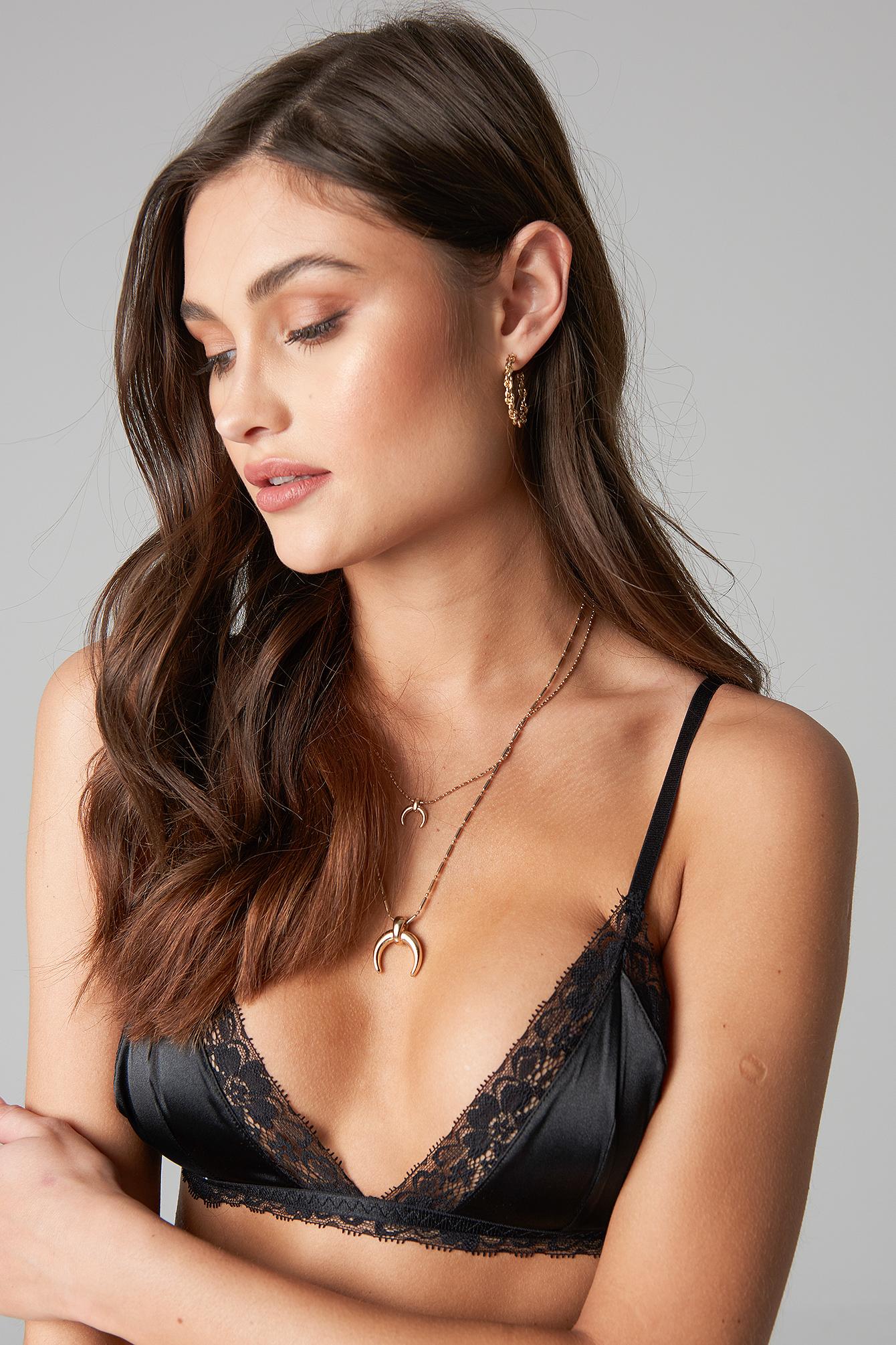 Satin Lace Bralette NA-KD.COM