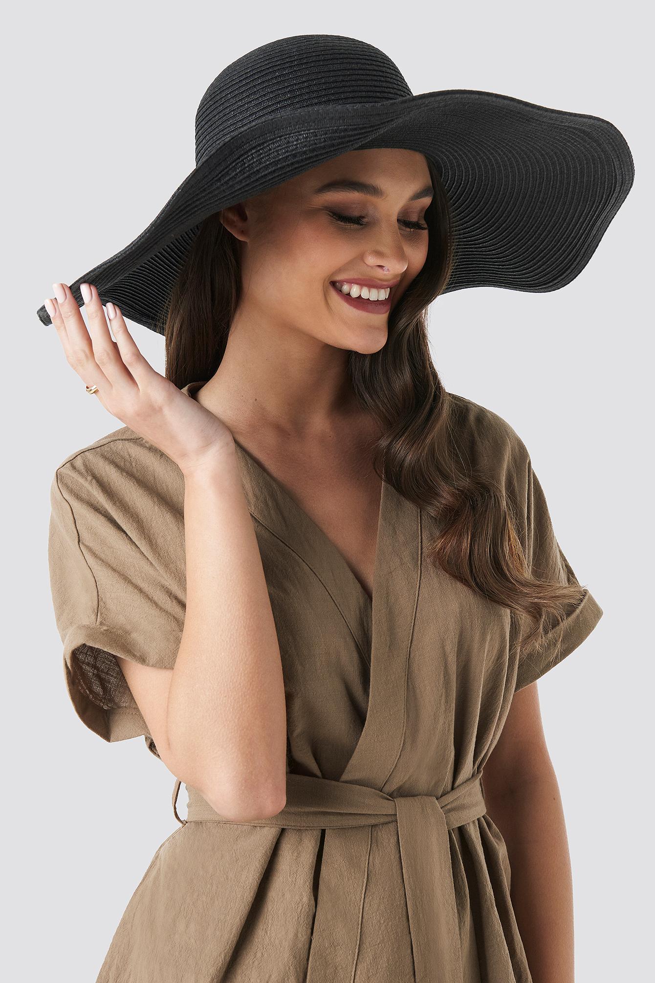 Oversize Straw Hat NA-KD.COM