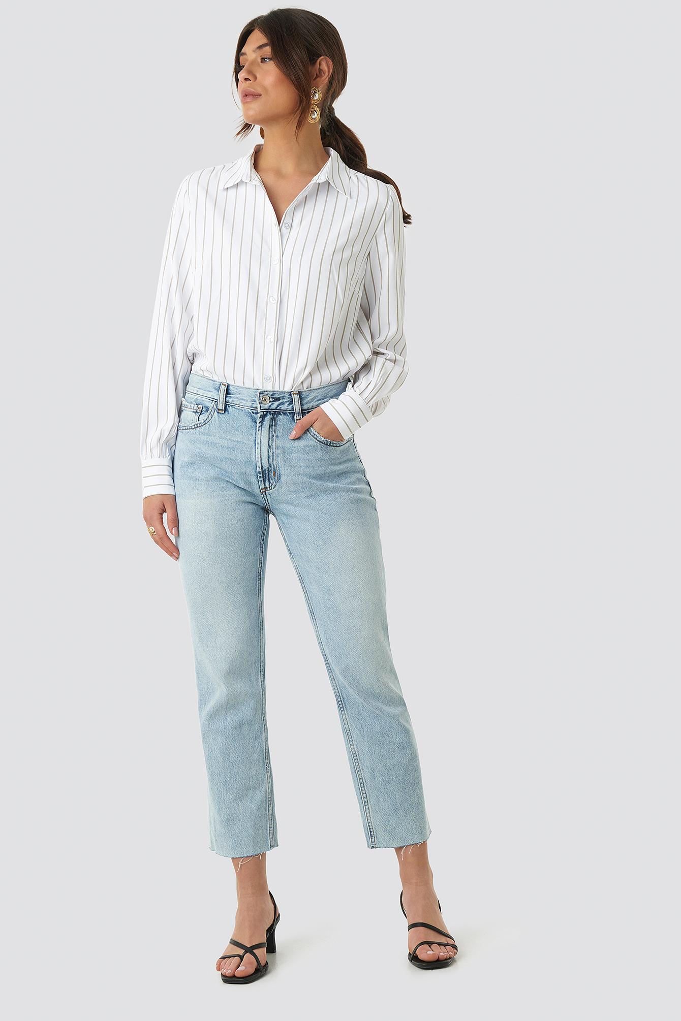 Regular Striped Shirt NA-KD.COM