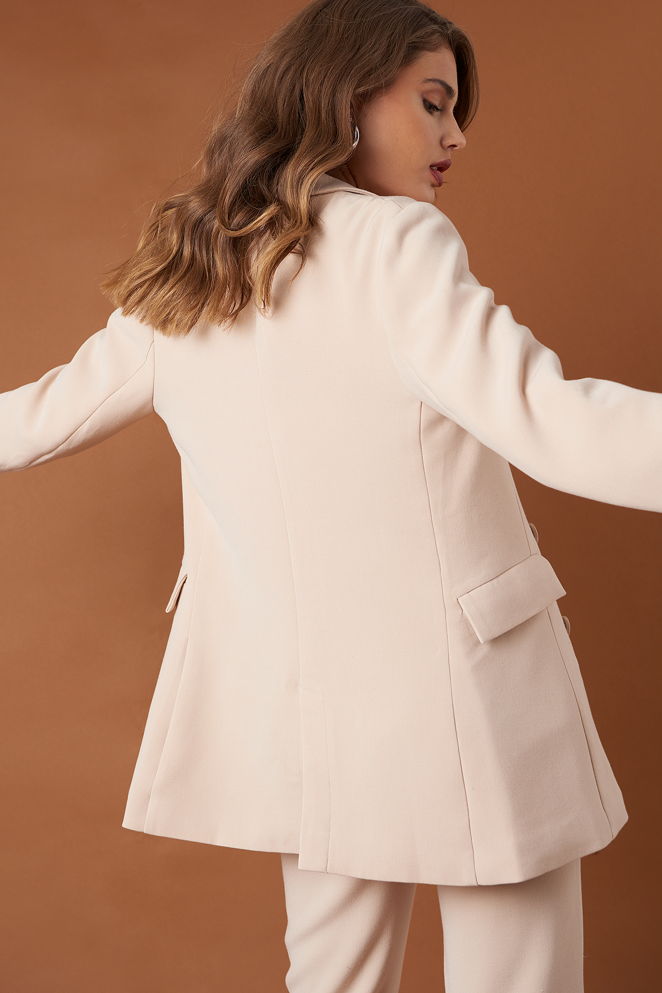 Relaxed Double Breasted Blazer  NA-KD.COM