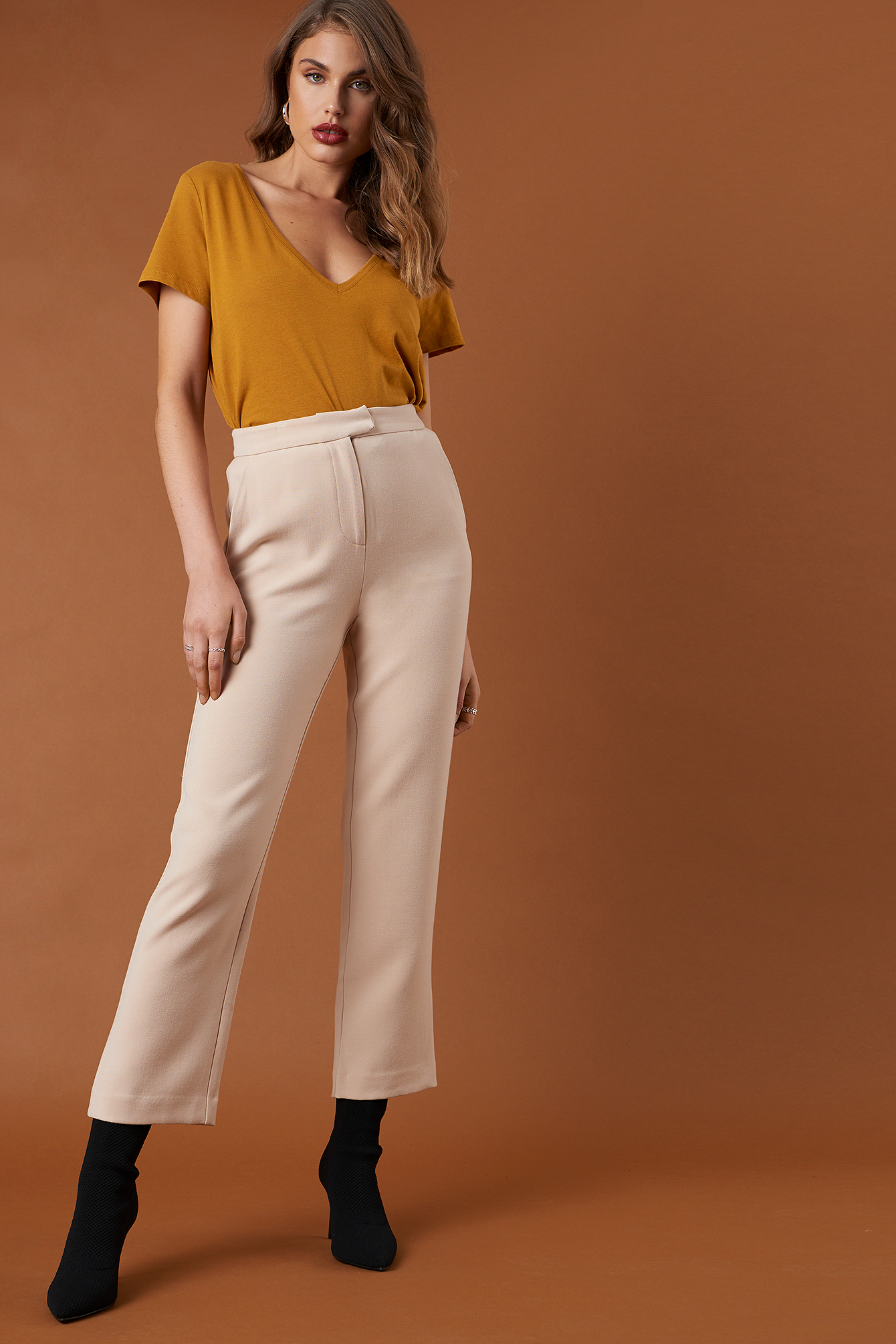 Relaxed Suit Pants NA-KD.COM