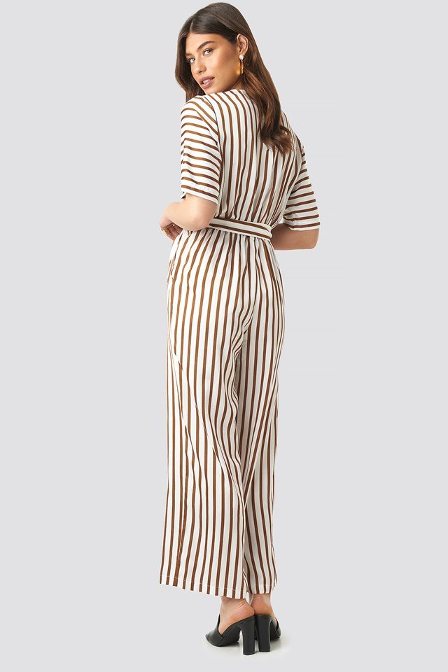 Striped Jumpsuit NA-KD.COM