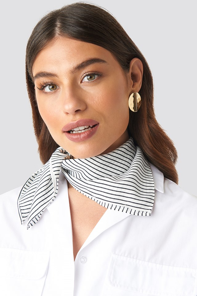 Thin Striped Scarf NA-KD.COM