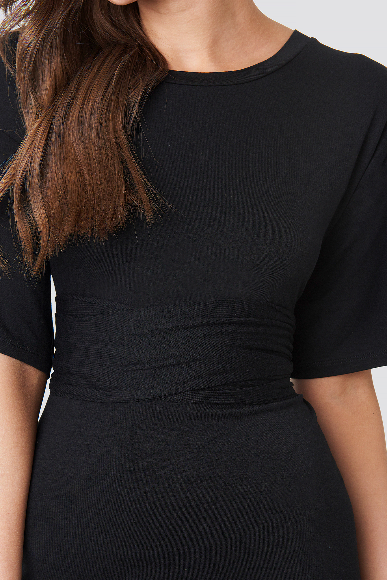 Wrapped Detail Jersey Dress NA-KD.COM